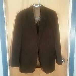 Perry Ellis men's brown Blazer size 38 Reg